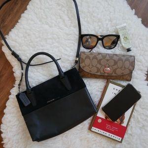 Coach small satchel